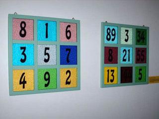 Quadrato magico di ordine tre