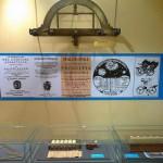 Grafometro XVII secolo e vetrina
