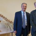 Coclea di Archimede donata dal prof. Molari Università di Bologna